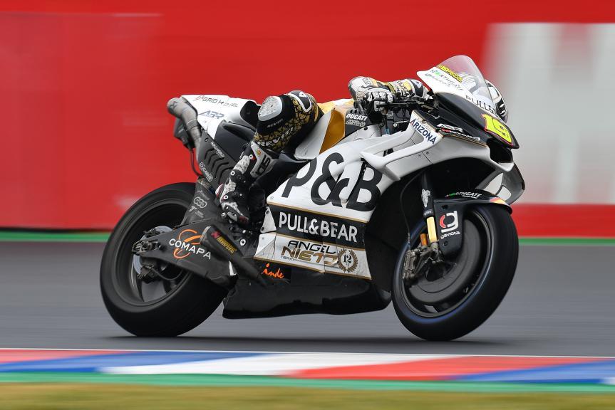 Alvaro Bautista, Angel Nieto Team, Gran Premio Motul de la República Argentina
