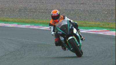 Watch the Enel MotoE™ bike in action at the Argentina GP
