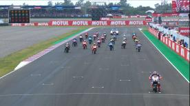 One of the most memorable MotoGP? races in recent history saw penalties, overtaking and an unexpected winner
