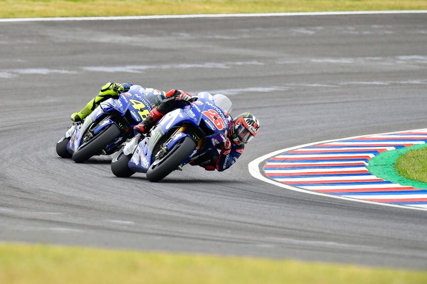 Maverick Viñales, Valentino Rossi, Movistar Yamaha MotoGP, Gran Premio Motul de la República Argentina
