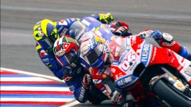 Catch all the details of Sunday's Argentina GP action in stunning slow motion.