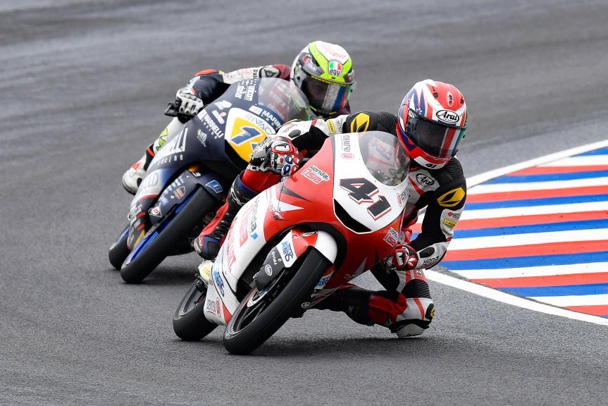 Nakarin Atiratphuvapat, Honda Team Asia, Tony Arbolino, Marinelli Snipers Team, Gran Premio Motul de la República Argentina