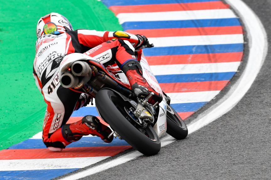 Nakarin Atiratphuvapat, Honda Team Asia, Gran Premio Motul de la República Argentina