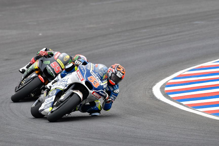 Tito Rabat, Reale Avintia Racing, Hafizh Syahrin, Monster Yamaha Tech 3, Gran Premio Motul de la República Argentina