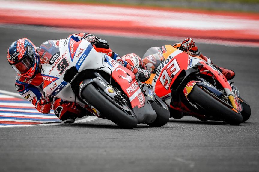 Danilo Petrucci, Alma Pramac Racing, Marc Marquez, Repsol Honda Team, Gran Premio Motul de la República Argentina