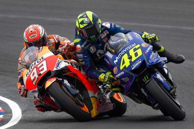 Marquez VS Rossi, la storia di uno scontro che ritorna