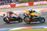 Gabriel Rodrigo, RBA BOE Skull Rider, Niccolo Antonelli, SIC58 Squadra Corse, Gran Premio Motul de la República Argentina