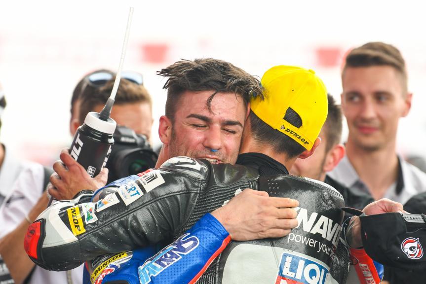 Mattia Pasini, Italtrans Racing Team, Xavi Vierge, Dynavolt Intact GP, Gran Premio Motul de la República Argentina