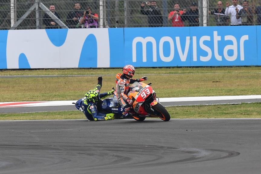 Valentino Rossi, Marc Marquez, Gran Premio Motul de la República Argentina