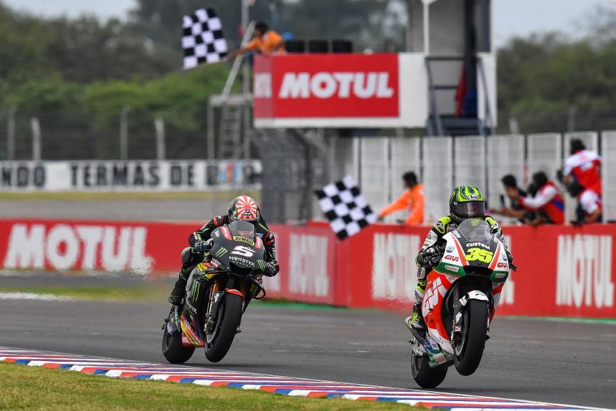 Cal Crutchlow, Johann Zarco, Gran Premio Motul de la República Argentina