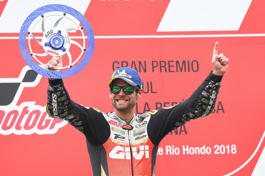 Cal Crutchlow, LCR Honda Castrol, Gran Premio Motul de la República Argentina