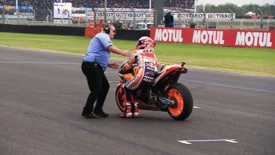 The cat lands on his feet - Marc's mad dash in Argentina
