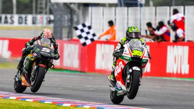 Crutchlow first Brit to lead the Championship since Sheene