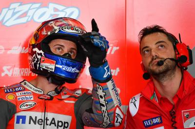 "Dovizioso: ""I think they already had their problems'"