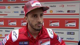 Andrea Dovizioso, qui s'attendait à connaître des difficultés en Argentine, se disait tout de même content du résultat de sa course.