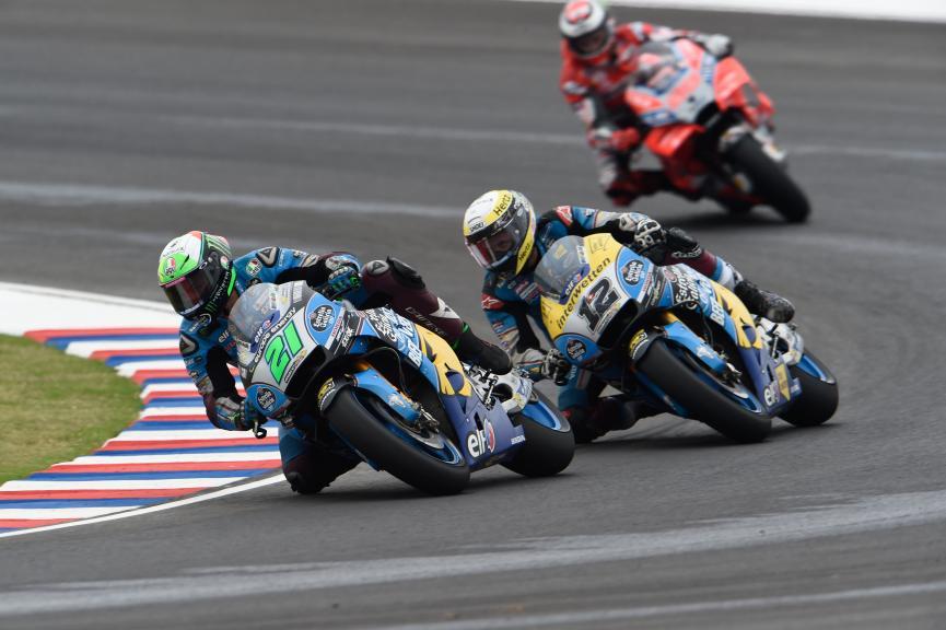Franco Morbidelli, Thom Luthi, Eg 0,0 Marc VDS, Gran Premio Motul de la República Argentina