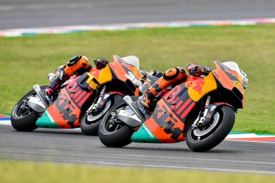 KTM find positives in Argentina