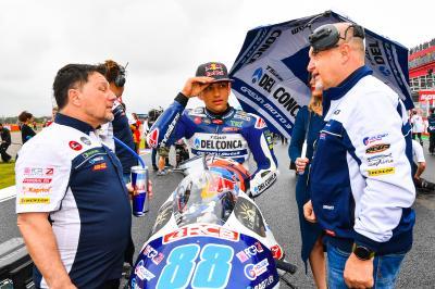 """Martín: """"Pude ganar la carrera y al final fui 11.º"""""""