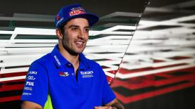 The Maniac' talks about the pressures of racing, his future with Suzuki and his big example: Valentino Rossi