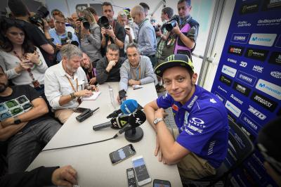 "Rossi: ""The only thing to do is look forward"""