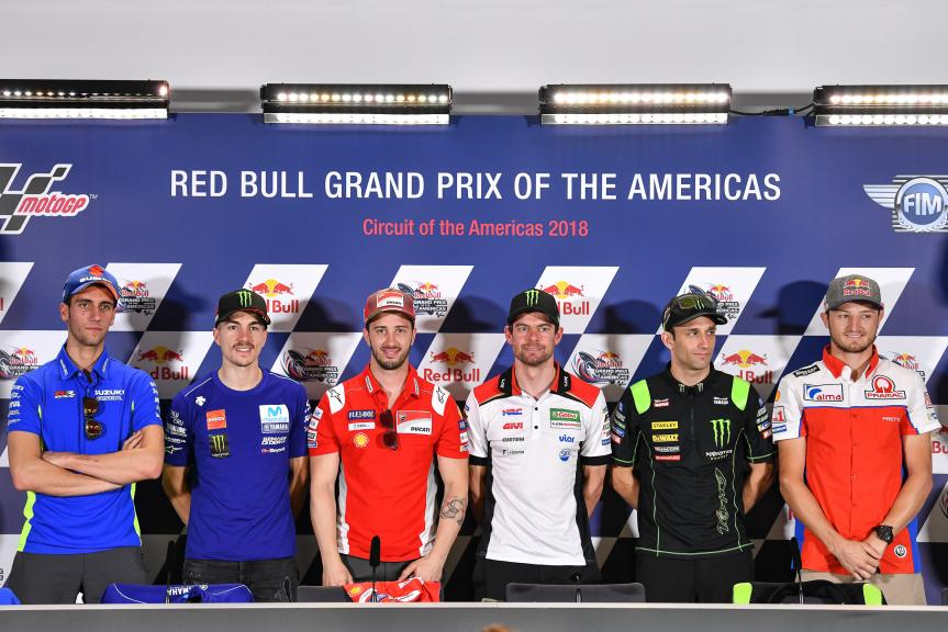 Press-Conference, Red Bull Grand Prix of The Americas