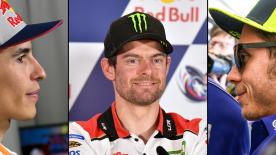 Hear the thoughts of Crutchlow, Dovizioso, Zarco, Viñales, Miller, Rins and Marquez and Rossi, ahead of MotoGP™ Americas in Austin, Texas