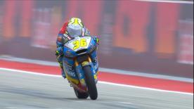 Revivez la première séance d'essais libres de la catégorie Moto2™ à Austin.