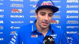 The Suzuki Ecstar rider explains his success on day 1 at Americas GP and why he's determined to be top tomorrow