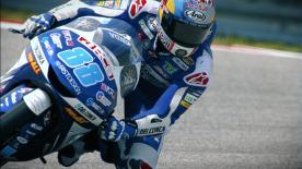 El piloto de Honda dominó en COTA la primera jornada por delante de Canet y Di Giannantonio