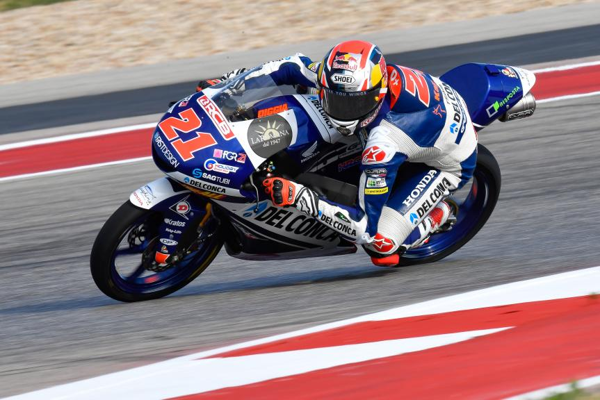 Fabio Di Giannantonio, Del Conca Gresini Moto3, Red Bull Grand Prix of The Americas