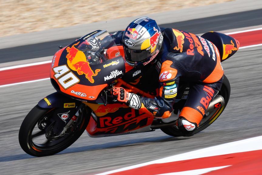 Darryn Binder, Red Bull KTM Ajo, Red Bull Grand Prix of The Americas