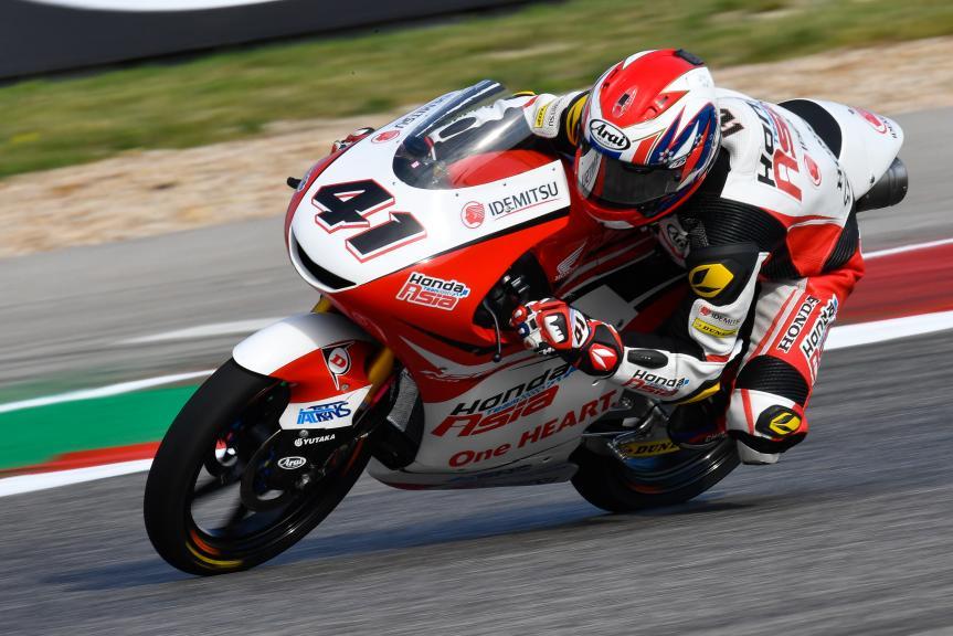 Nakarin Atiratphuvapat, Honda Team Asia, Red Bull Grand Prix of The Americas