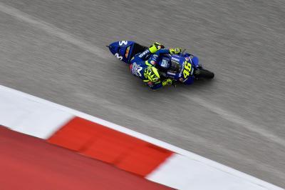 Rossi: 'Migliorata l'accelerazione, sono contento'