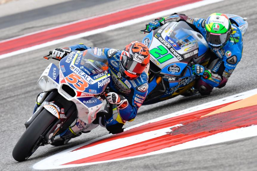 Tito Rabat, Reale Avintia Racing, Franco Morbidelli, Eg 0,0 Marc VDS, Red Bull Grand Prix of The Americas