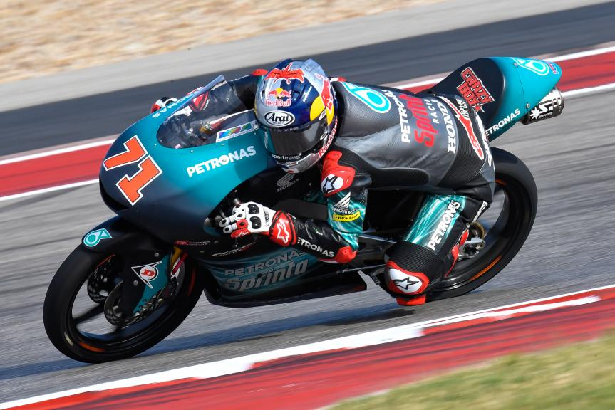Ayumu Sasaki, Petronas Sprinta Racing, Red Bull Grand Prix of The Americas