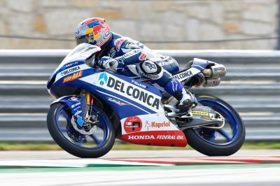 Martín lidera la primera sesión de Moto3™ en COTA