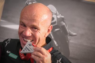 An emotional induction as Mamola is named a Legend