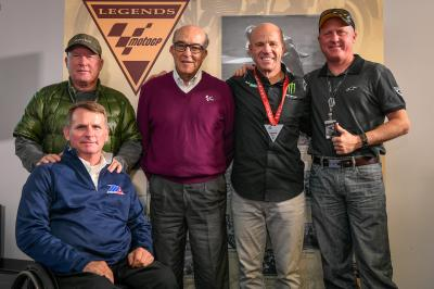 Randy Mamola becomes a MotoGP™ Legend in Texas