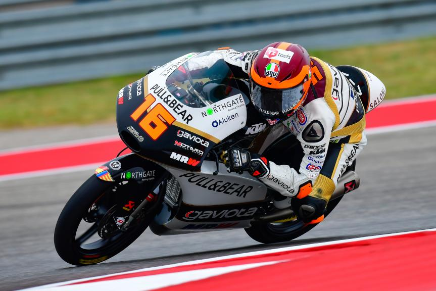 Andrea Migno, Angel Nieto Team Moto3, Red Bull Grand Prix of The Americas