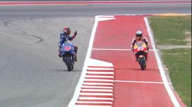 The Yamaha and Honda came close during Q2. FIM Stewards may have a word on who will take pole