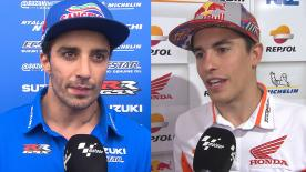 We get the lowdown from the MotoGP™ grid and find out how Friday went at the Termas de Rio Hondo