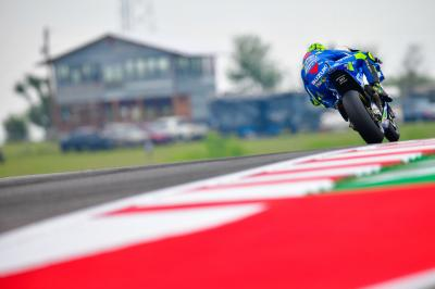 Iannone takes a front row and starring role in the drama