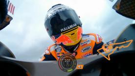Relive Marquez's pole-winning lap at the Circuit of the Americas