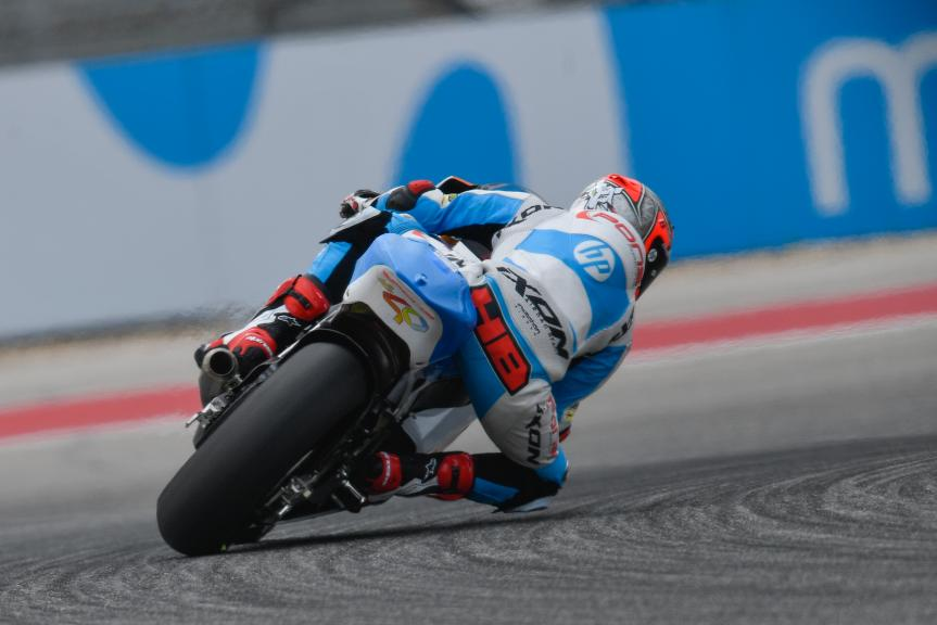 Hector Barbera, Pons HP40, Red Bull Grand Prix of The Americas