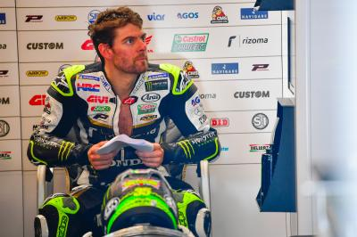 "Crutchlow: ""We have better pace than guys around us"""