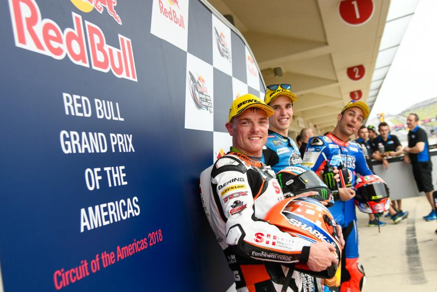 Alex Marquez, Sam Lowes, Mattia Pasini, Red Bull Grand Prix of The Americas