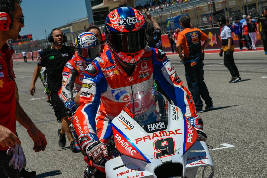 Danilo Petrucci, Alma Pramac Racing, Red Bull Grand Prix of The Americas