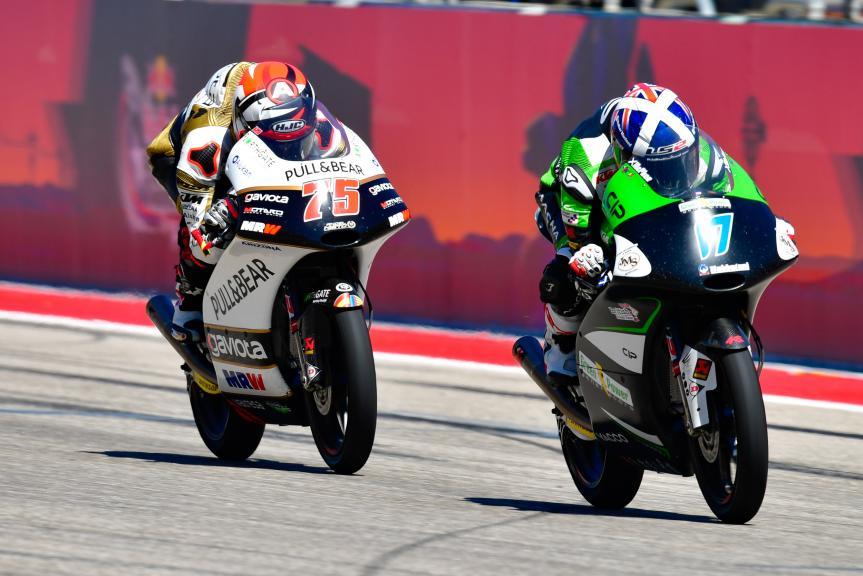 John Mcphee, CIP - Green Power, Albert Arenas, Angel Nieto Team Moto3, Red Bull Grand Prix of The Americas