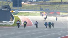 Watch the Moto3? Warm Up session ahead of the main event in Americas