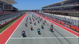 With a stacked front two rows, the race at COTA was on. Watch every adrenaline packed moment from the Lonestar State